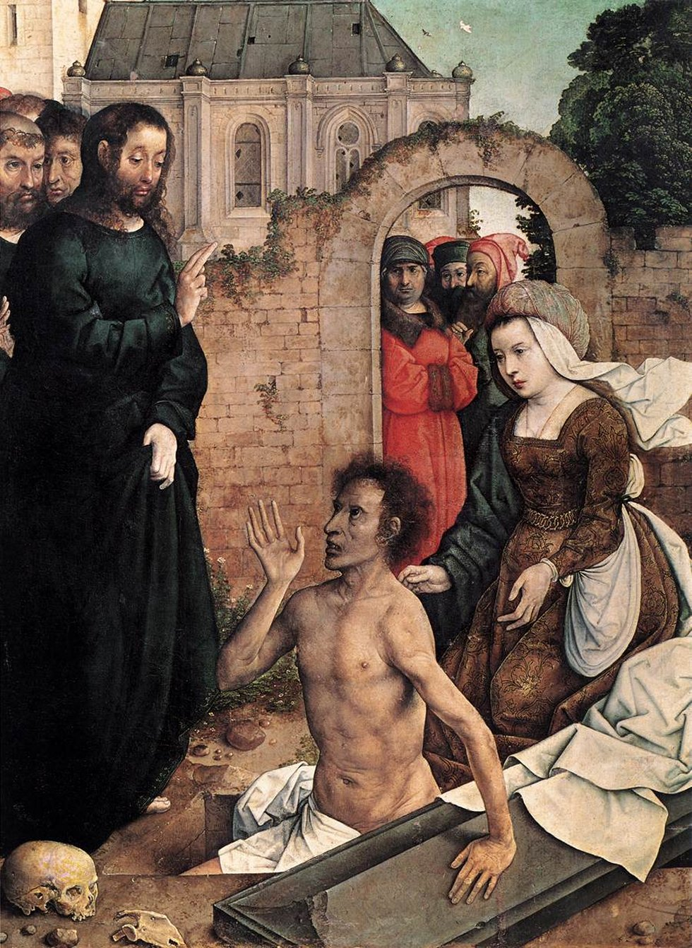 Juan de Flandes - The Raising of Lazarus - WGA12040-2