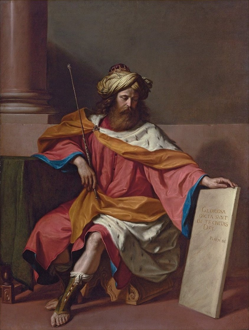 King David by Giovanni Francesco Barbieri il Guercino