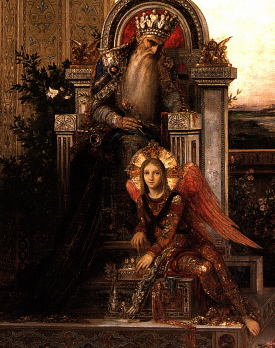 King David by Gustave Moreau 1878-unfull-900