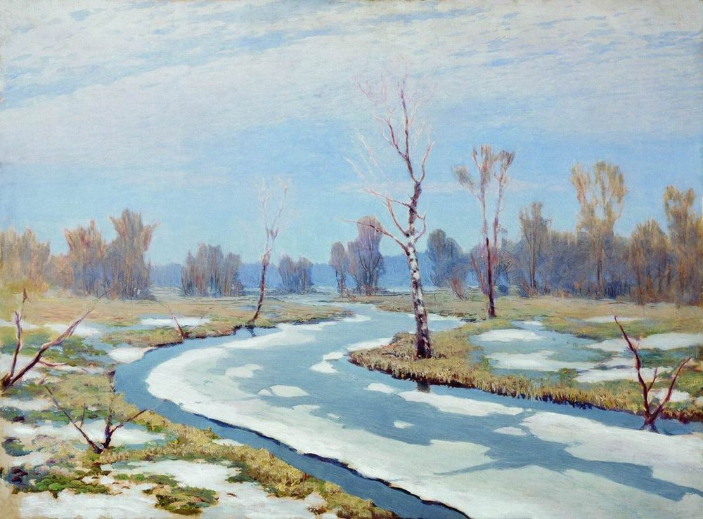 Kuindzhi Early spring 1890 1895