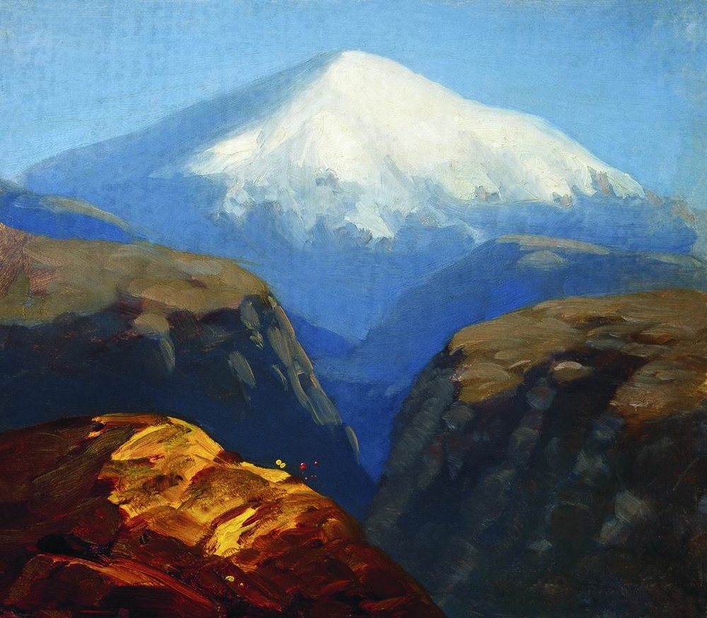 Kuindzhi Elbrus in the daytime 1890 or later