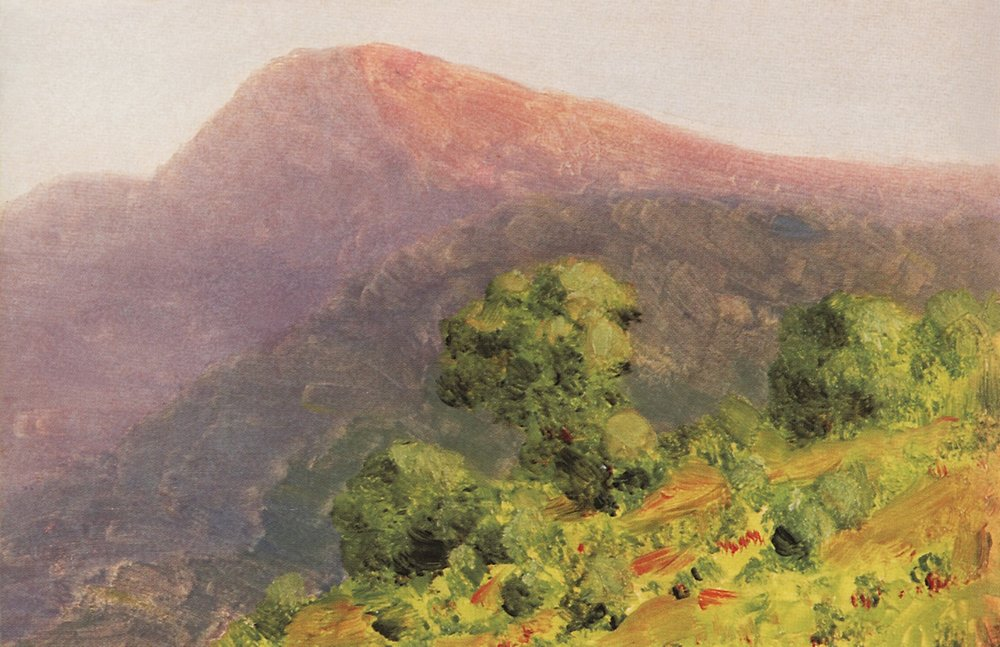 Kuindzhi Mountains 1885 1890