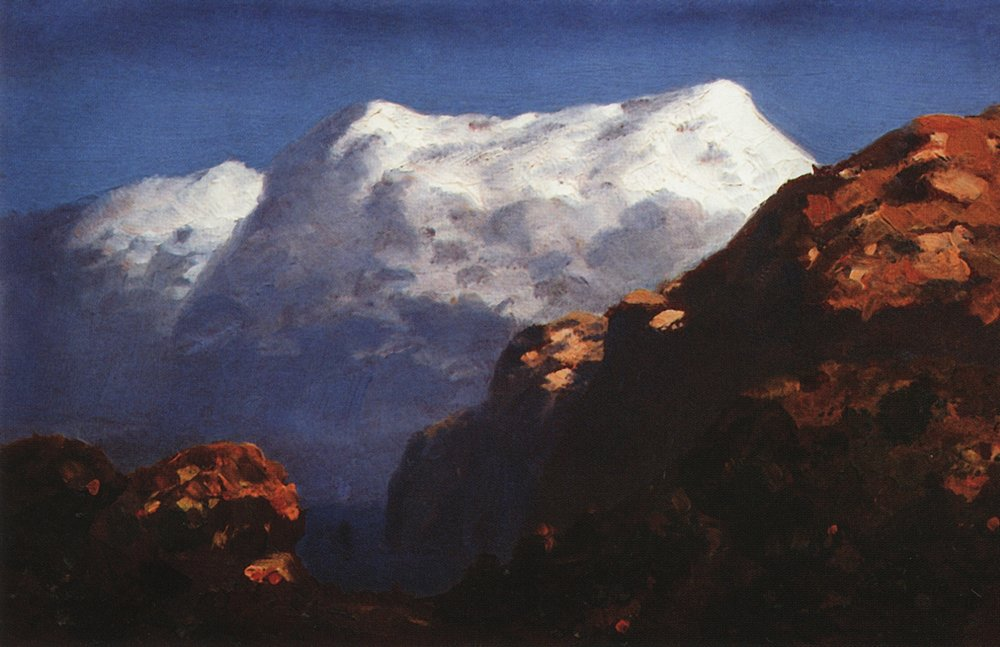 Kuindzhi Mountains 1890 1895