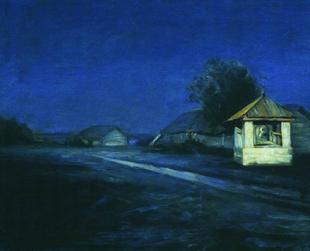 Kuindzhi Night landscape