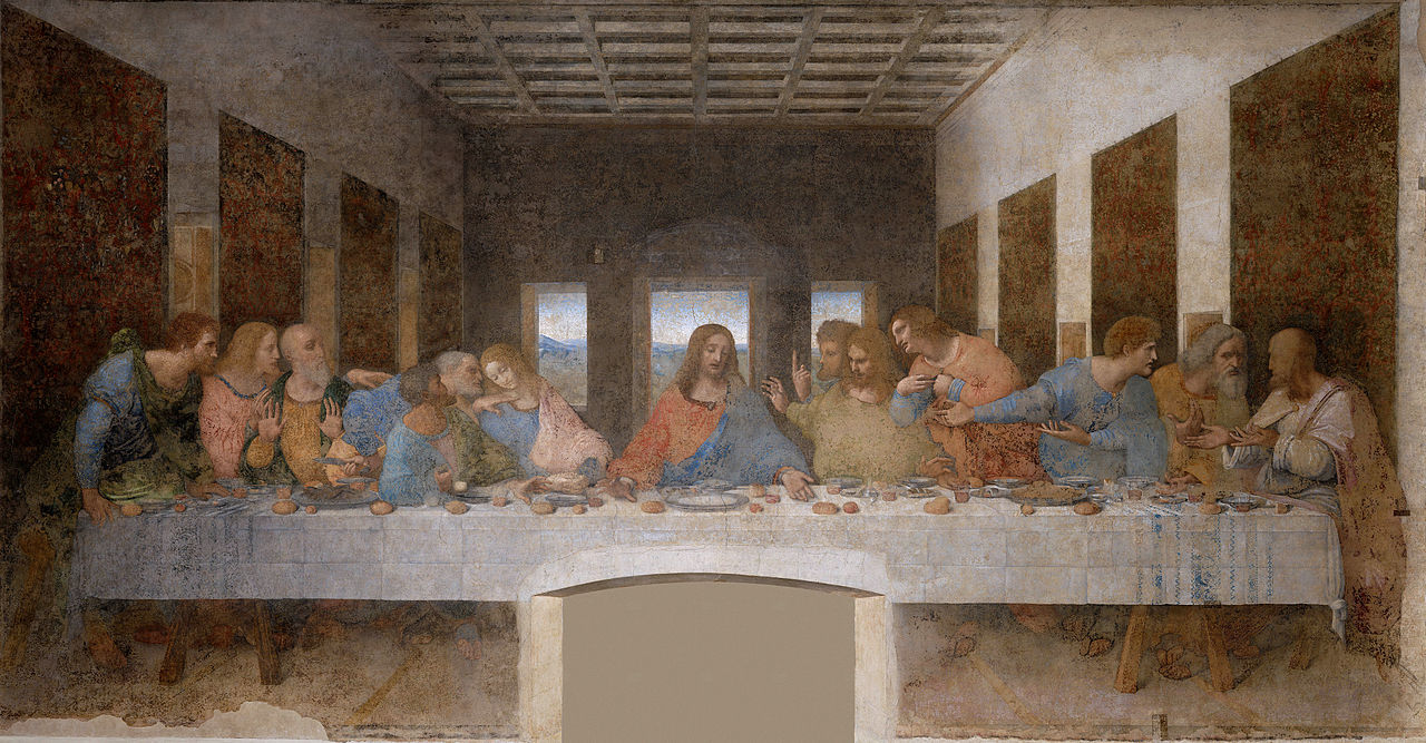 Leonardo da Vinci 1452-1519 - The Last Supper 1495-1498