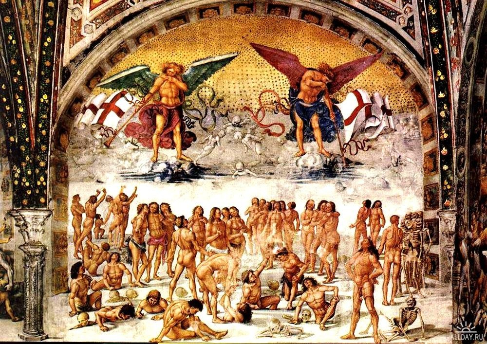 Luca Signorelli - Resurrection of the Flesh