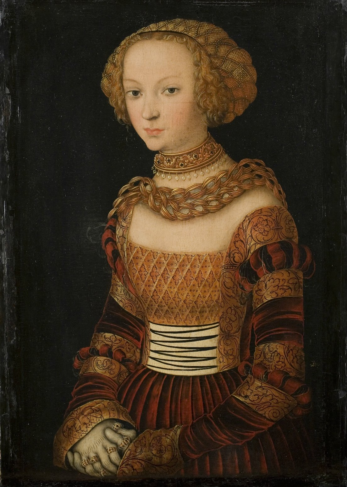 Lucas Cranach the Elder 14721553 Portrait of a young woman