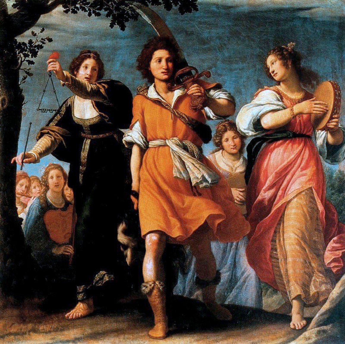 Matteo Rosselli The triumphant David