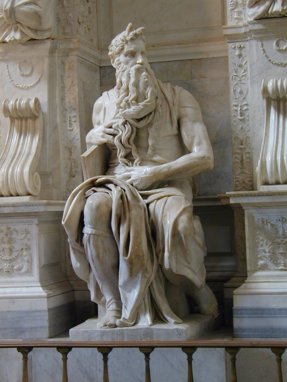 Michelangelo- Moses 1513-1515-1000