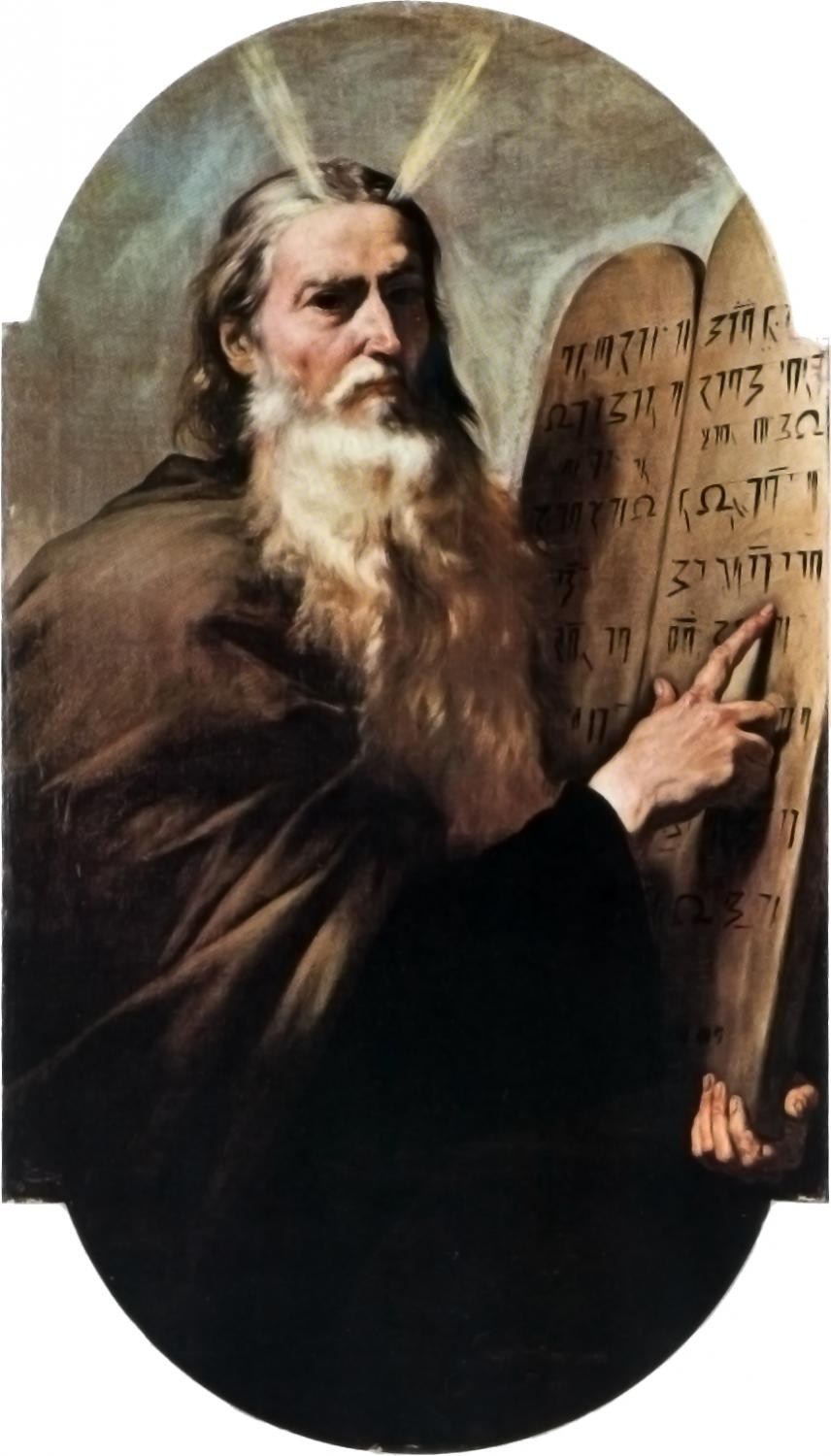 Moses and the tablets of law by Jusepe de Ribera