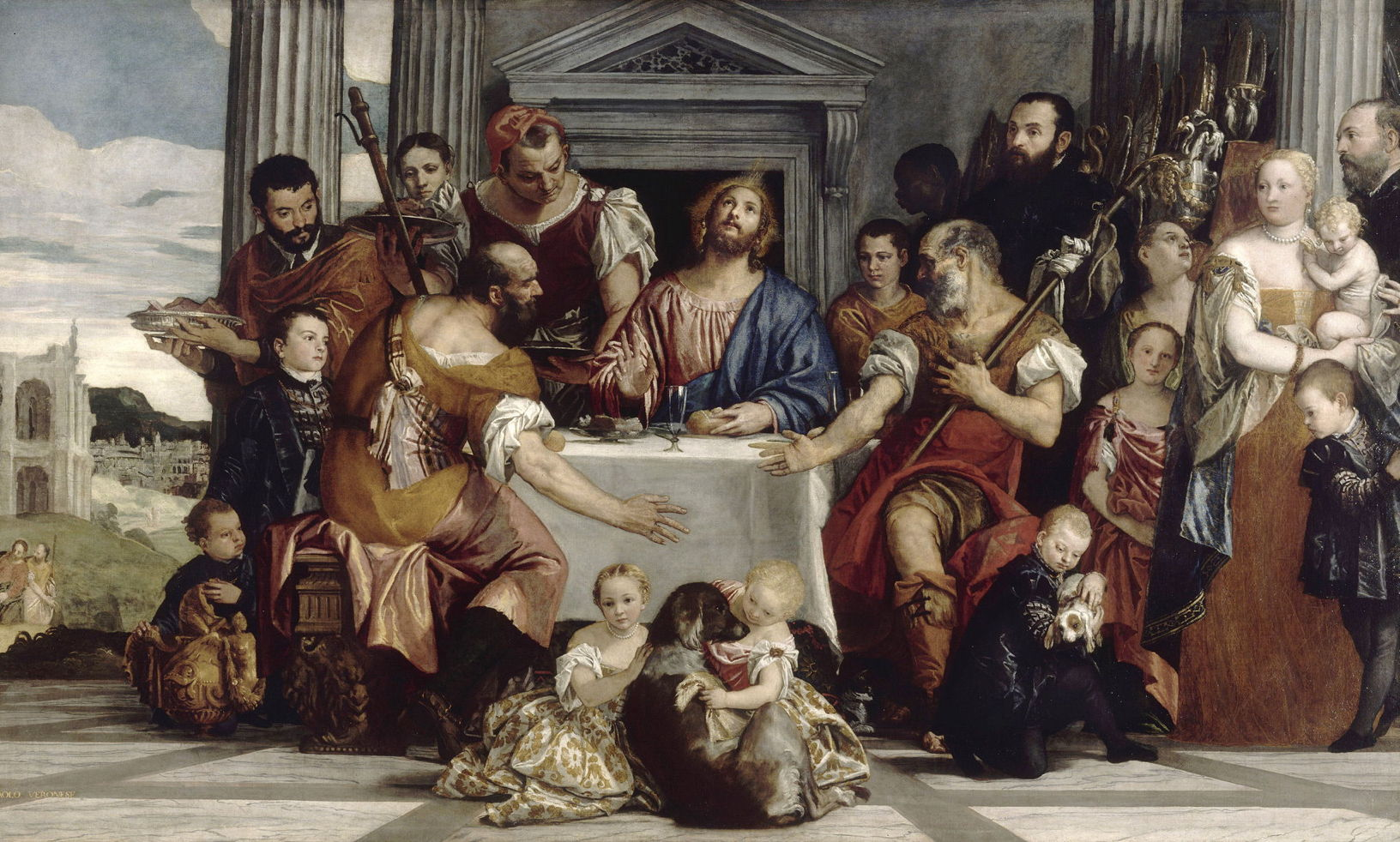 Paolo Veronese 15281588 The Supper at Emmaus c 1559