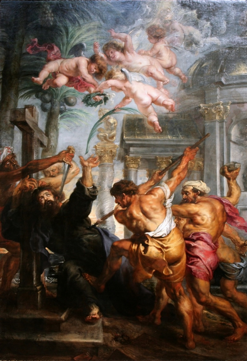 Peter Paul Rubens - Martyrdom of St Thomas-800