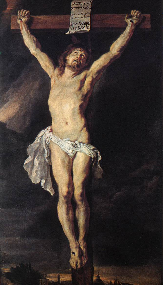 Peter Paul Rubens - The Crucified Christ - WGA20190