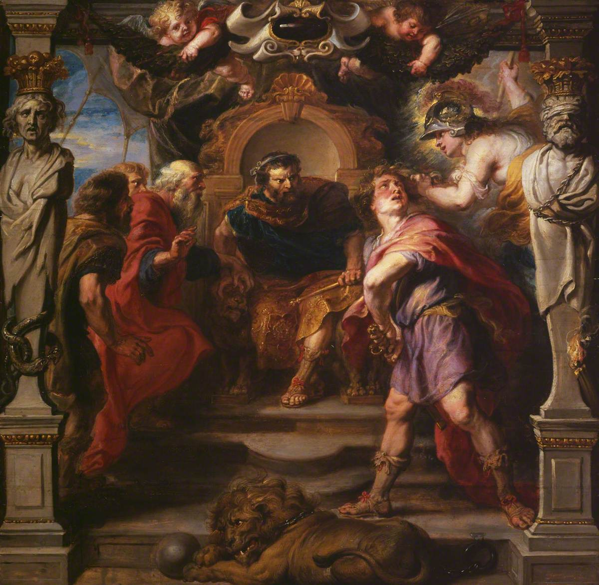 Peter Paul Rubens Painting - The Wrath Of Achilles