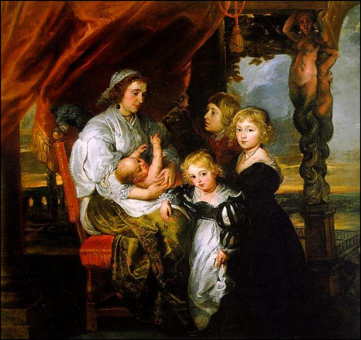 Peter Paul Rubens  Deborah Kip and her Children