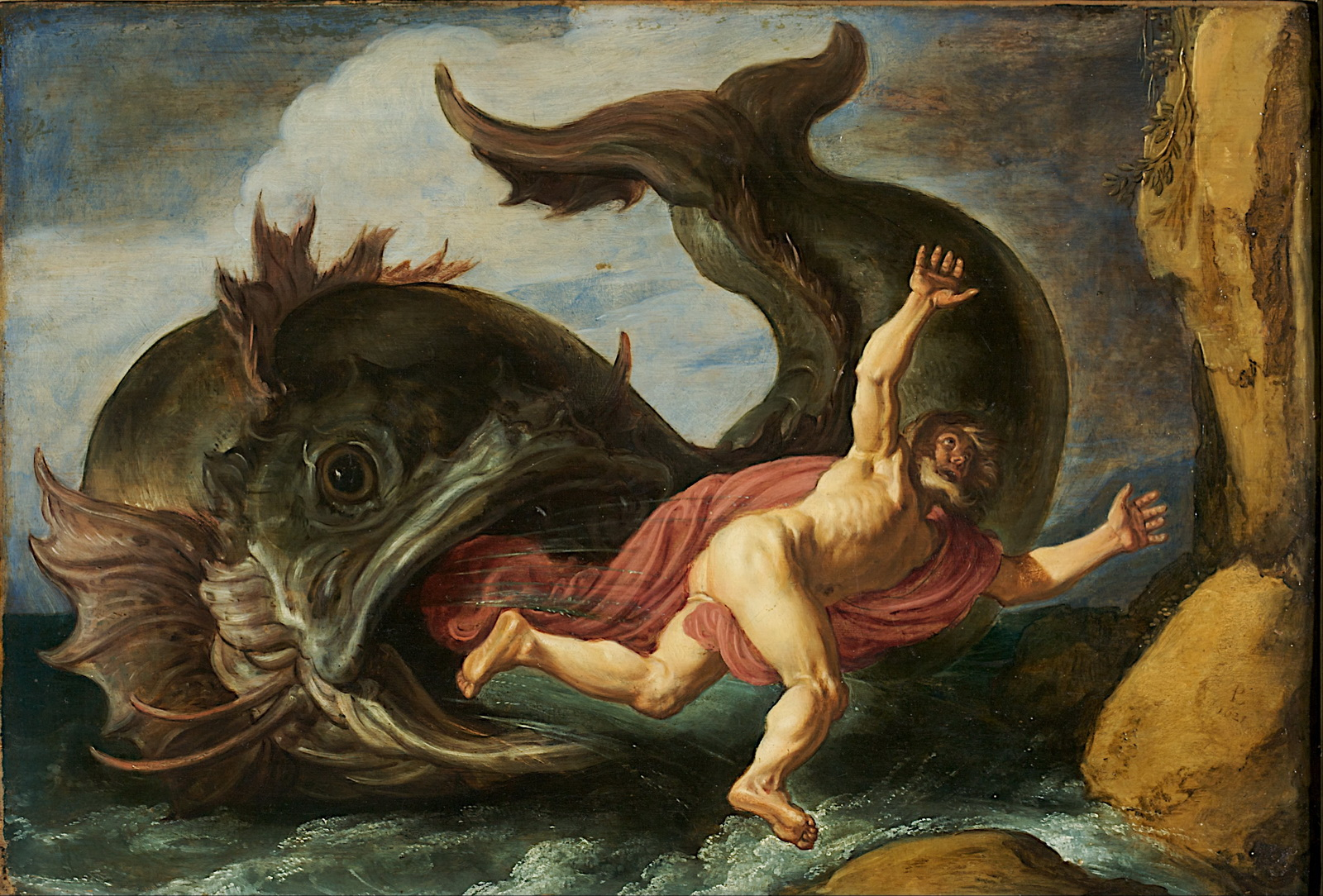 Pieter Lastman - Jonah and the Whale -1600