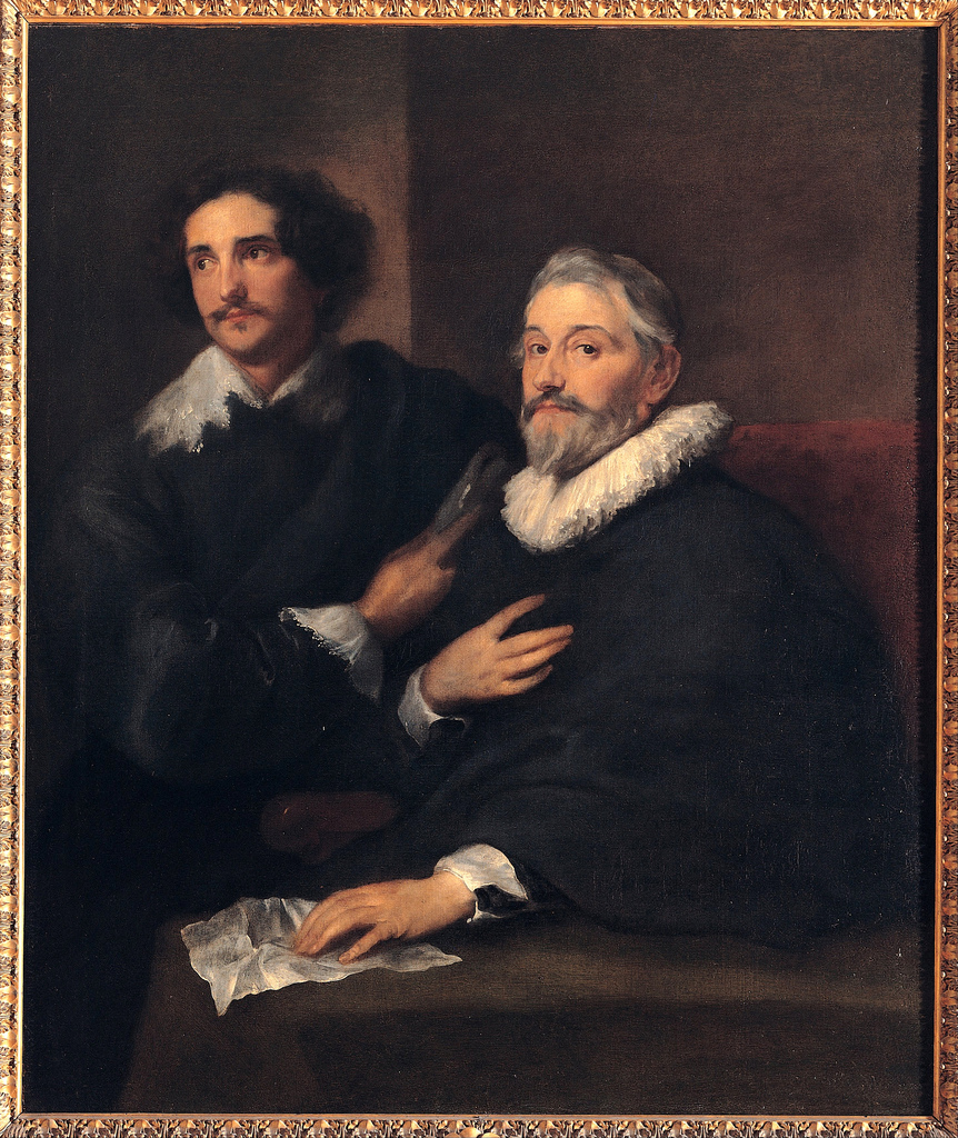 Portrait of the Brothers de Wael. Anton van Dyck