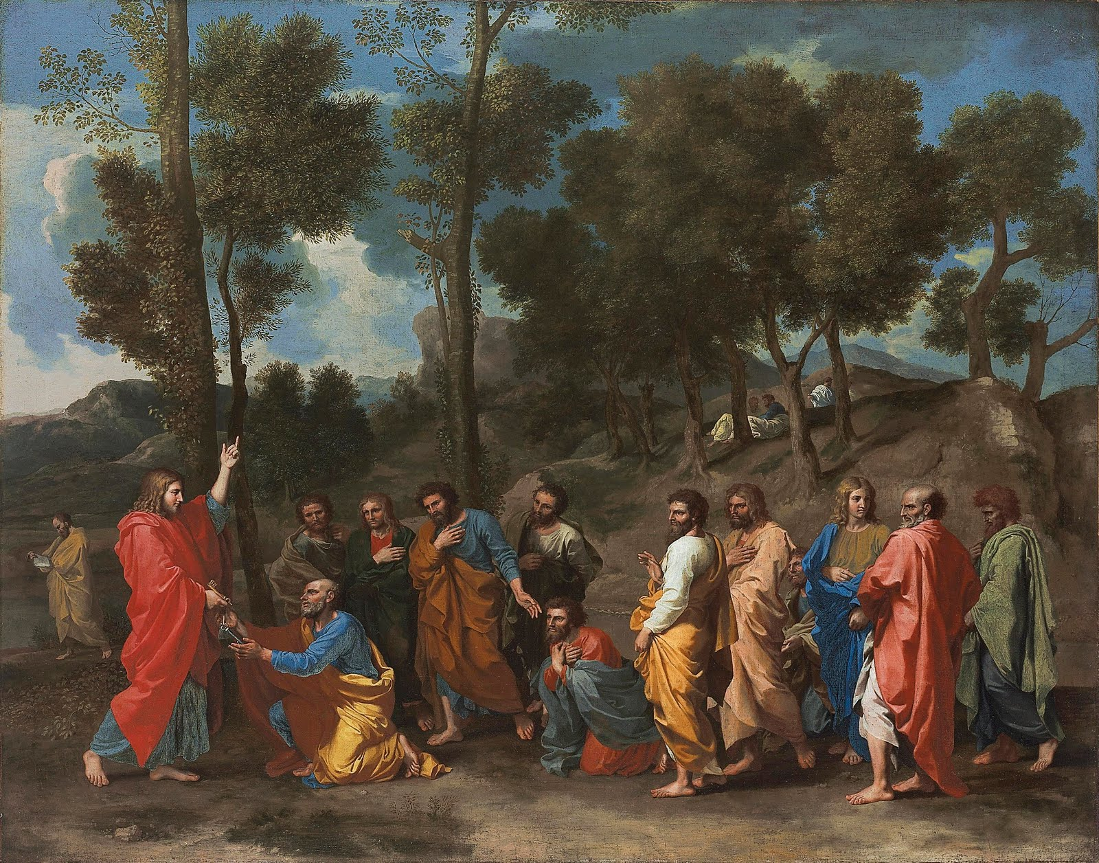 Poussin Nicolas-ordination sold christies