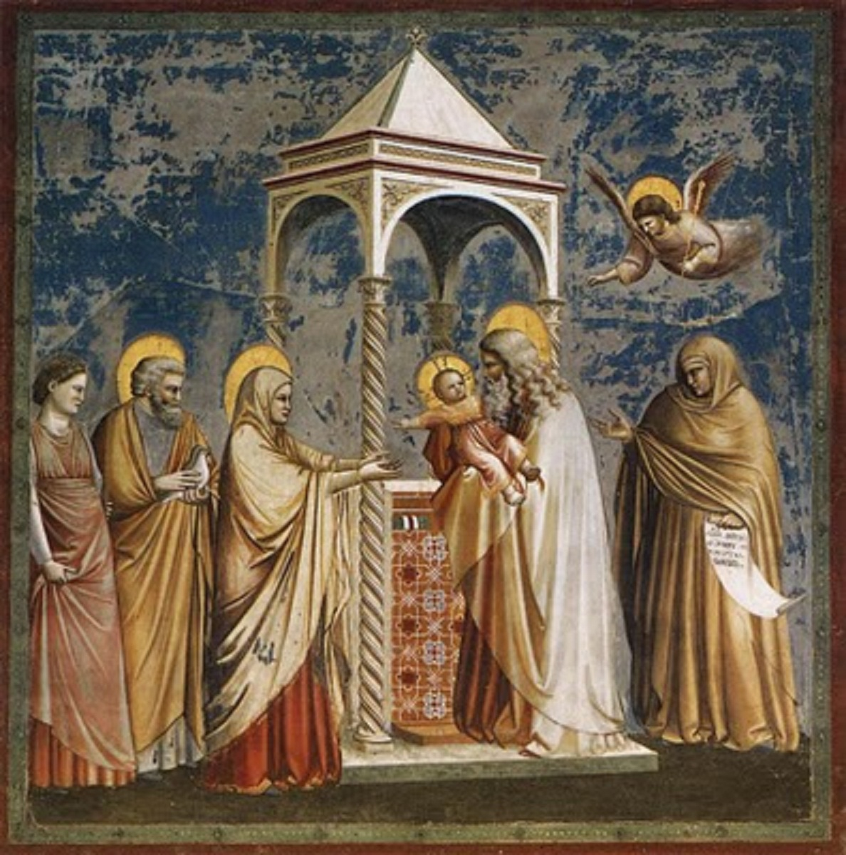 Presentation of Christ at the Temple - Giotto
