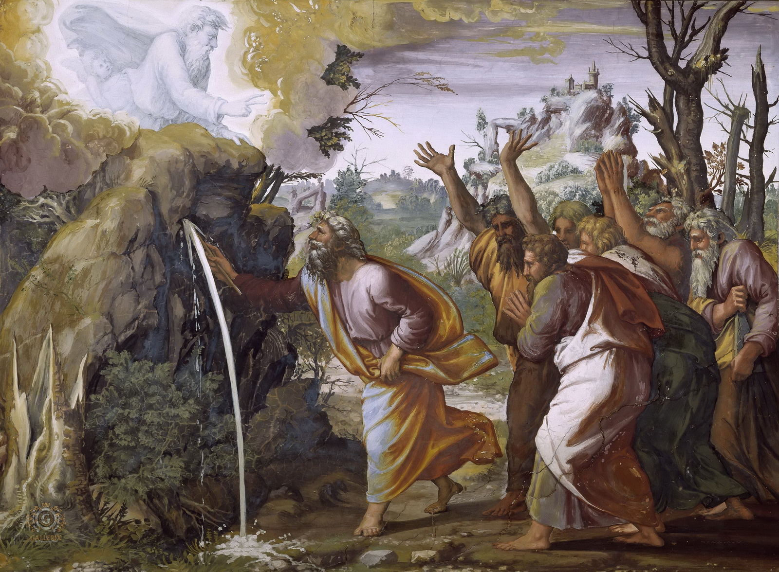 Rafaello-Moses and water from the rock-2