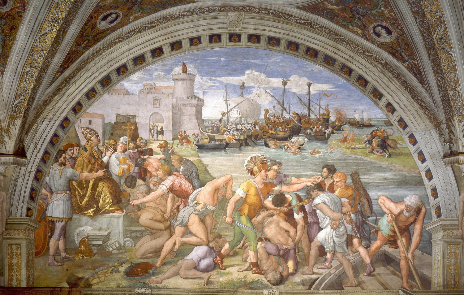 Raphael - Battle of Ostia-cut-1500