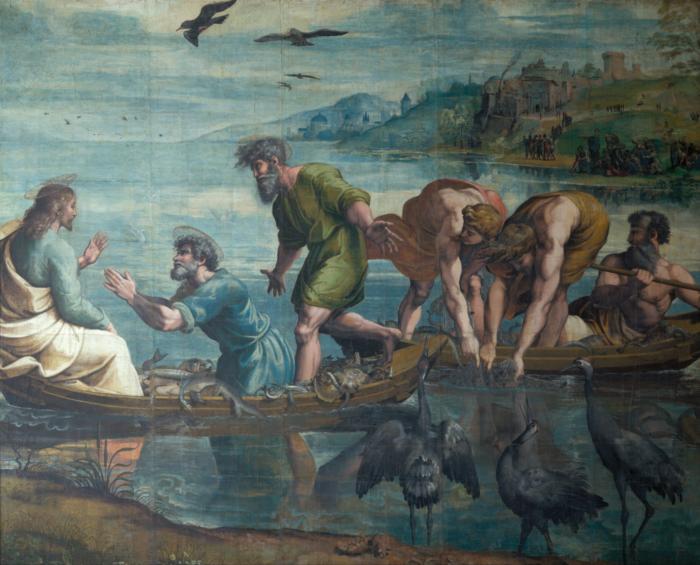 Raphael - The Miraculous Draft of Fishes-1400