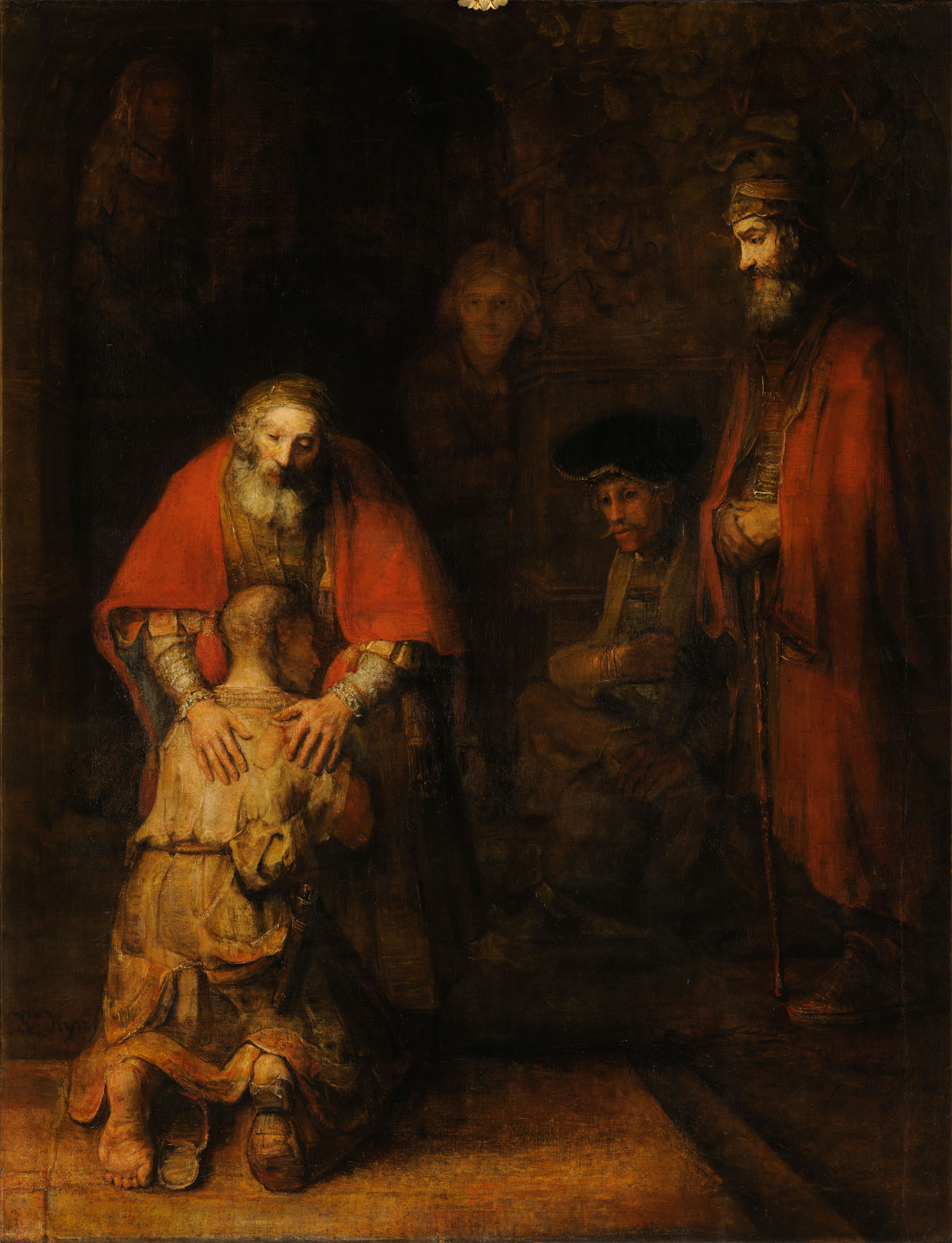 Rembrandt Harmensz van Rijn - Return of the Prodigal Son 1532