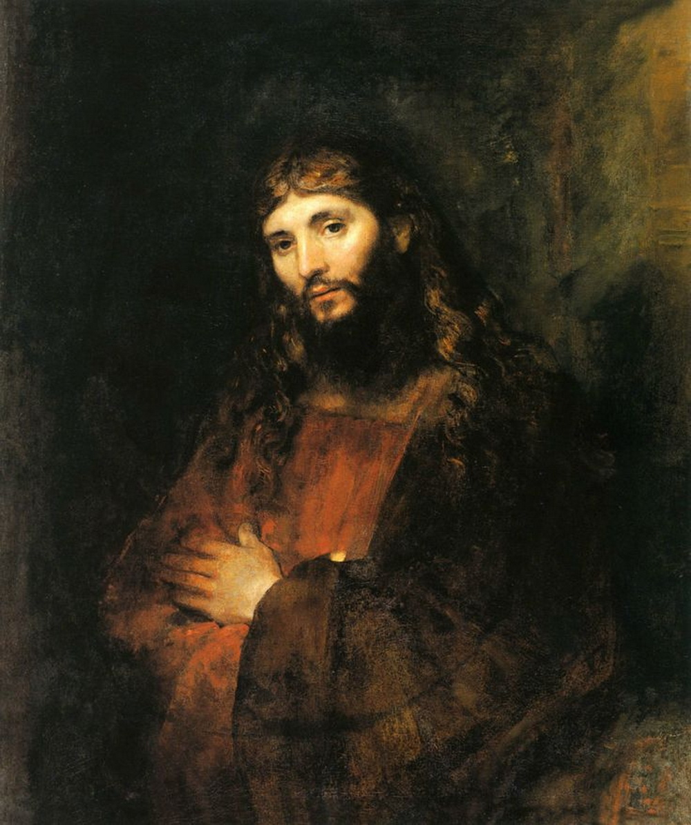 Rembrandt Harmenszoon van Rij Christ with Arms Folded