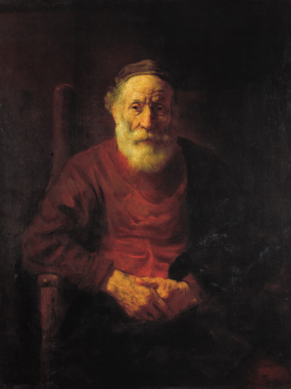 Rembrandt Harmenszoon van Rijn - An Old Man in Red-1000