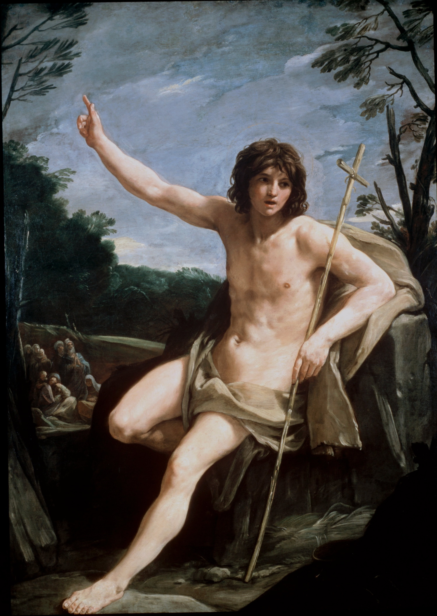 Reni Guido - St John the Baptist in the Wilderness 1500