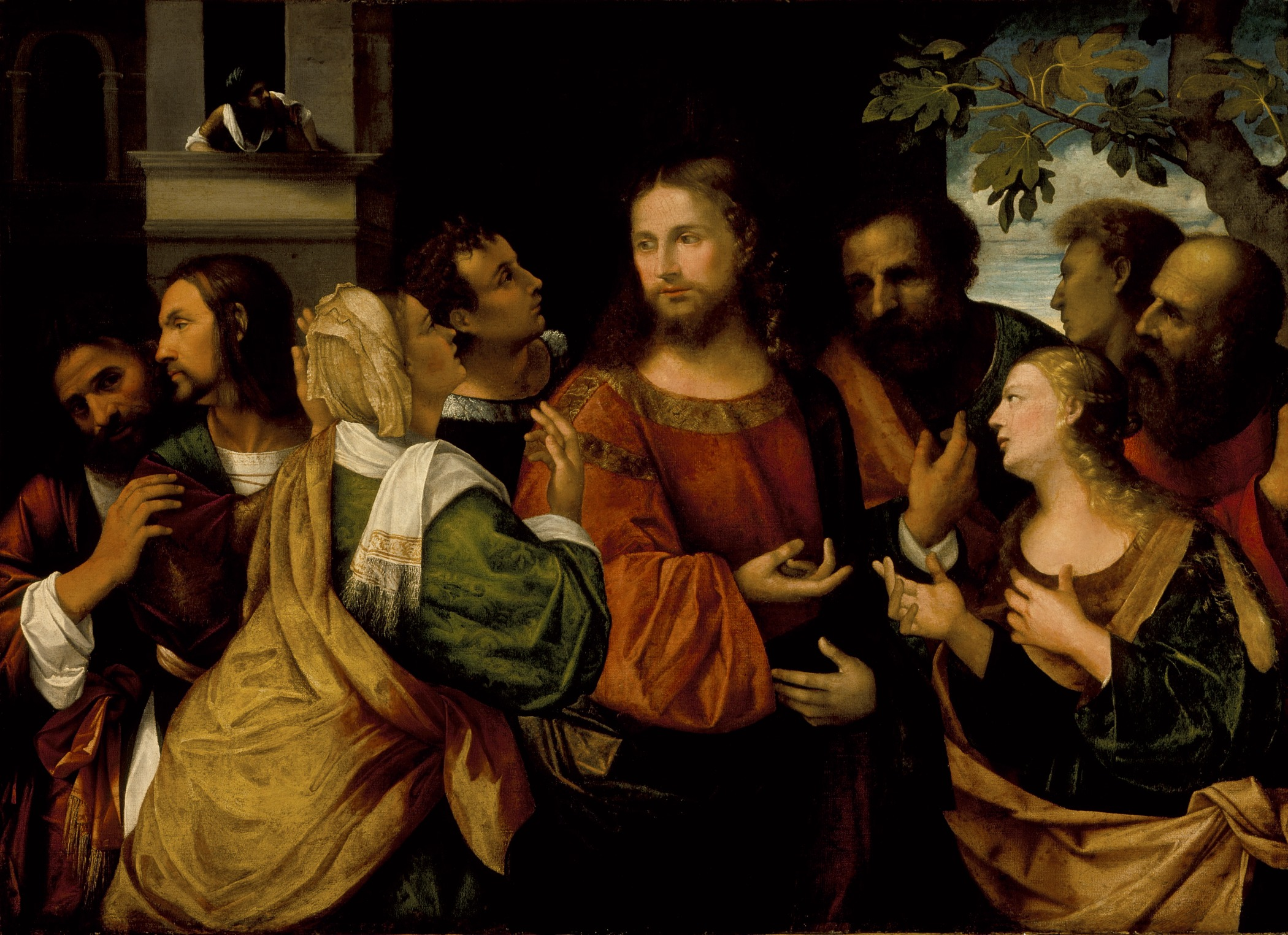 Rocco Marconi Italy Venice active 1504-1529Christ and the Women of Canaan