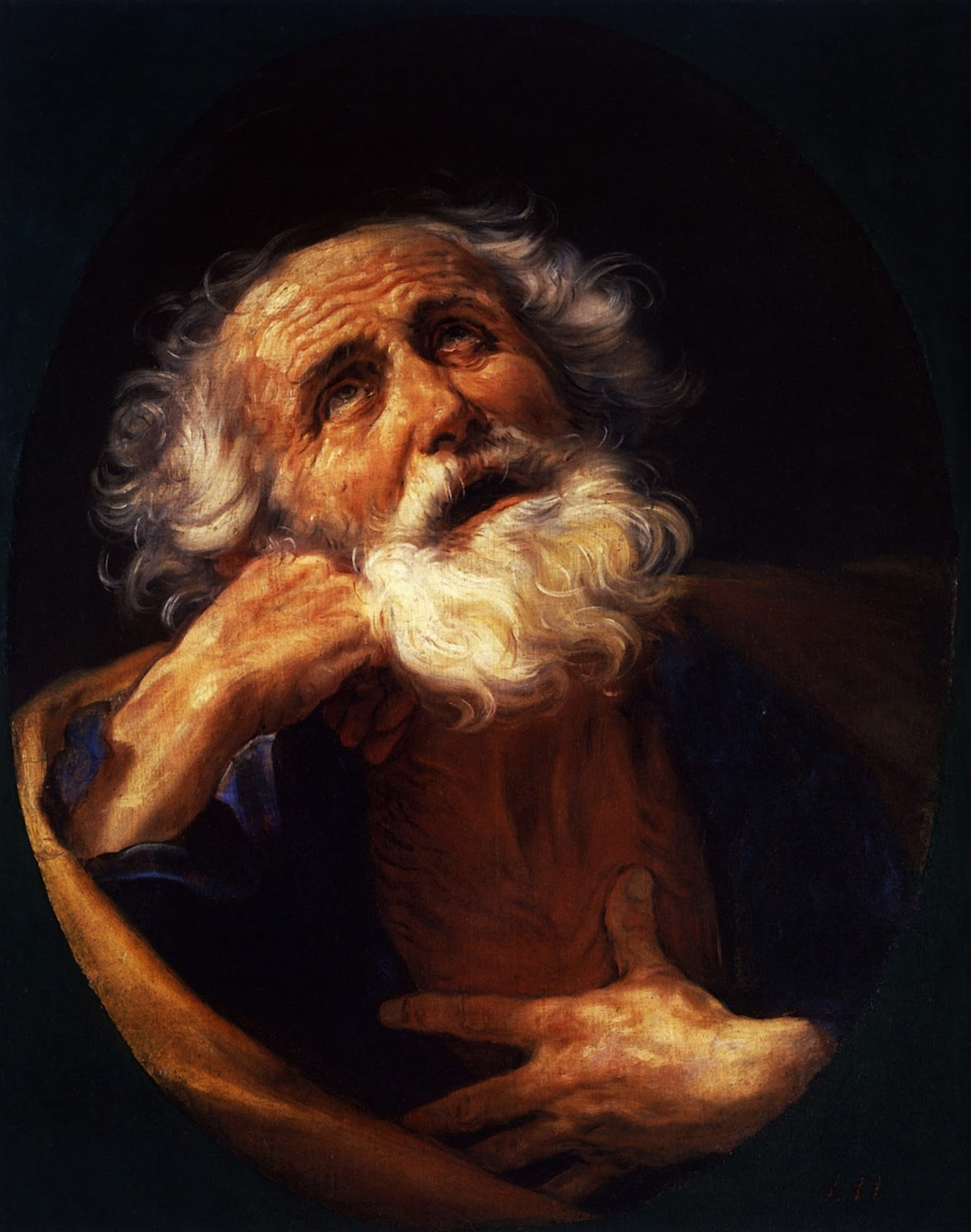 Saint Peter - Guido Reni