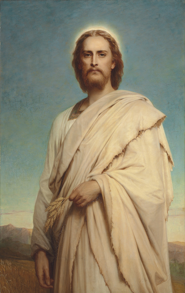 Sir Francis Bernard Dicksee-Christ of the Cornfield