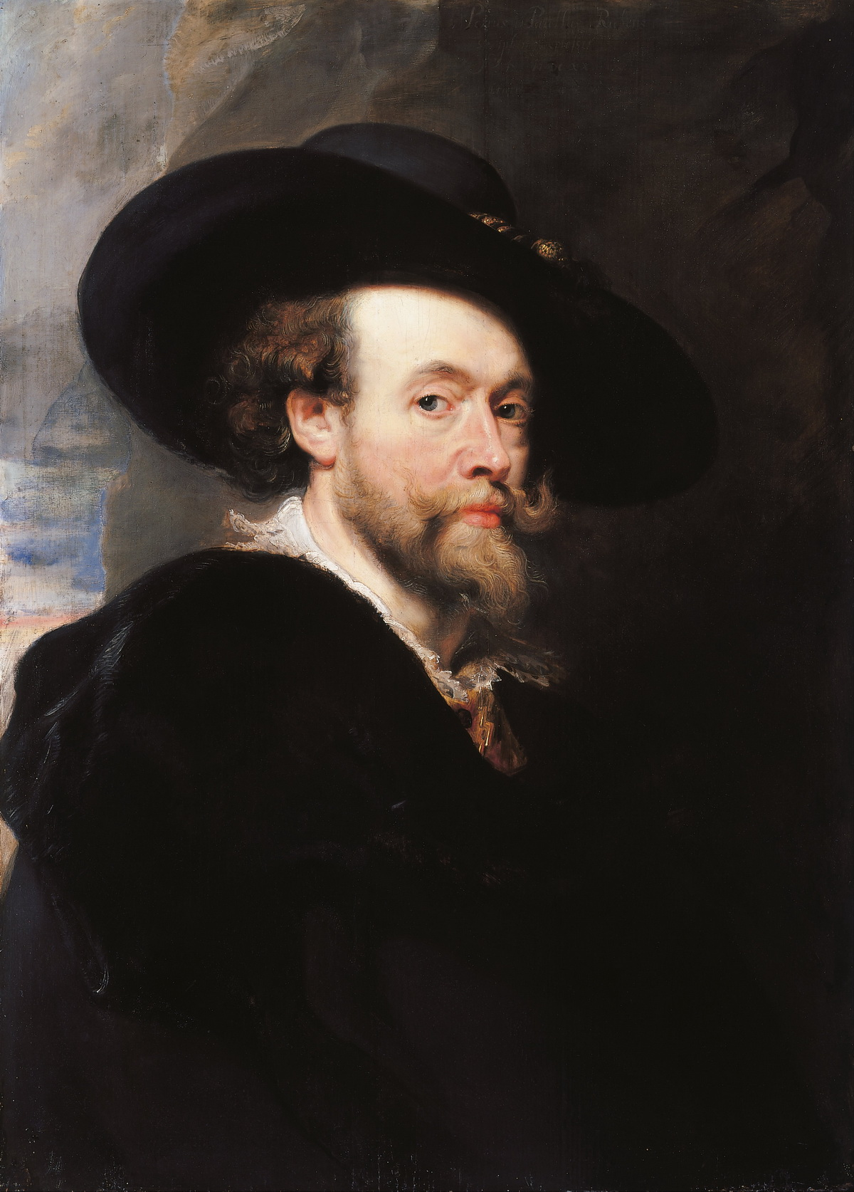 Sir Peter Paul Rubens - Portrait of the Artist-1200