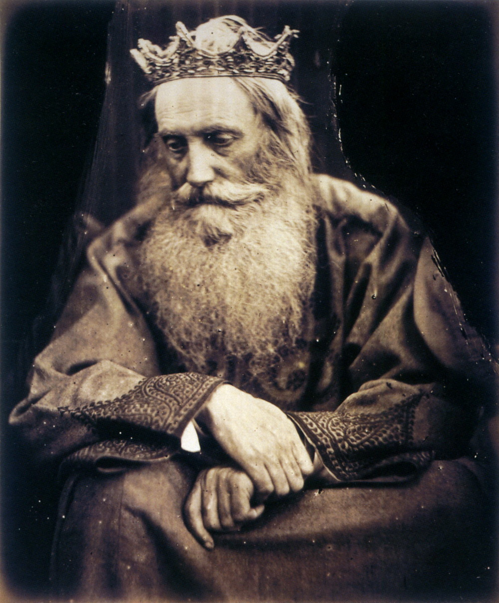 Study of King David Julia Margaret Cameron-1000