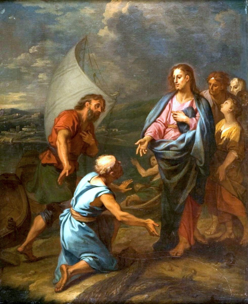 The Calling of Saint James the Greater by Claude-Guy Hallé 1652- 1736 500