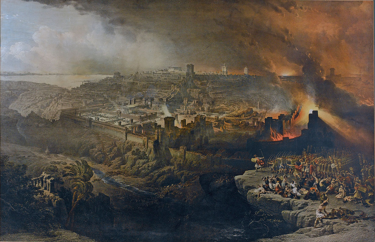 The Destruction of Jerusalem by David Roberts