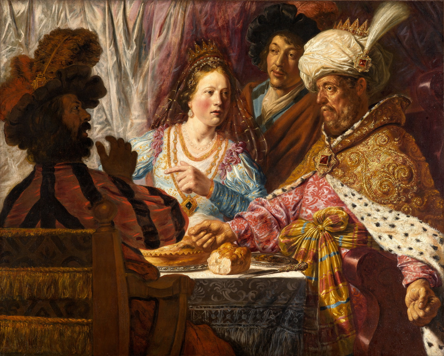 The Feast of Esther - Jan Lievens 2