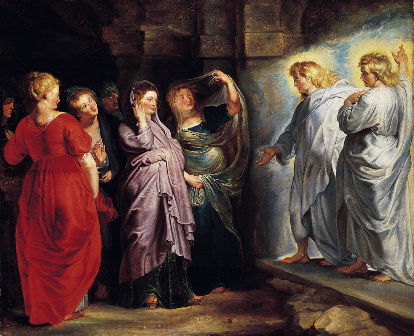 The Holy Women at the Sepulchre by Peter Paul Rubens-1400