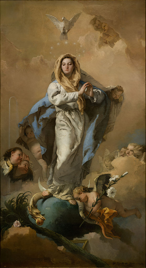 The Immaculate Conception by Giovanni Battista Tiepolo from Prado
