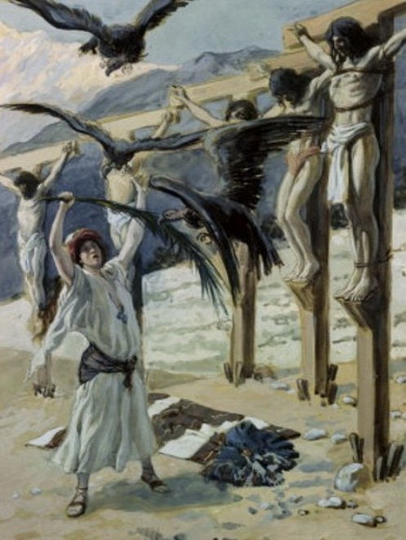 The Kindness of Rizpah James Tissot-2