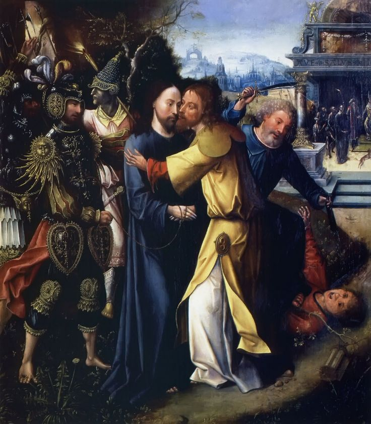The Kiss of Judas by Cornelis Engebrechtsz