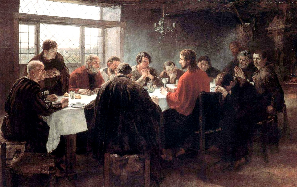 The Last Supper 1886 by Fritz von Uhde