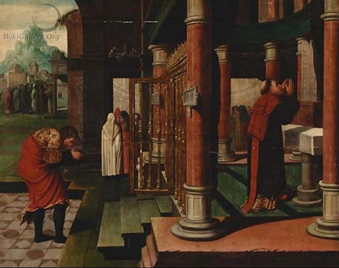 The Parable of the Pharisee and the Publican - after Bernaert Van Orley-1140