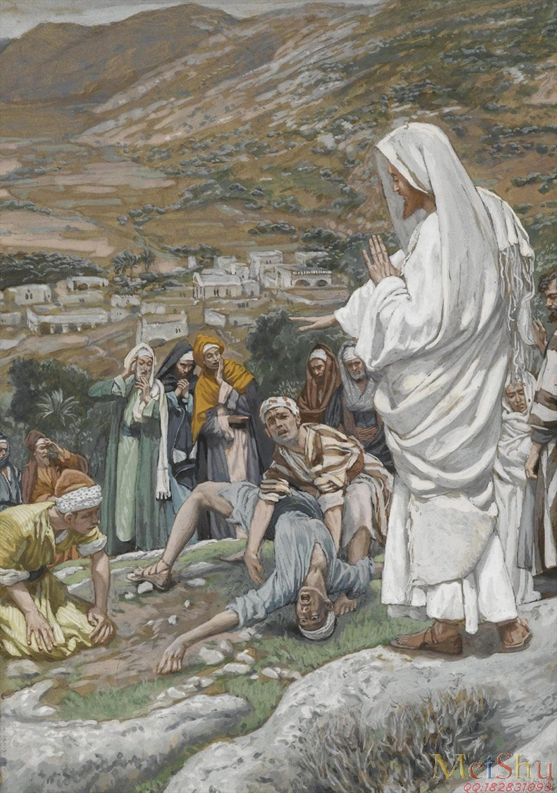 The Possessed Boyat the Foot of Mount Tabor by James Tissot