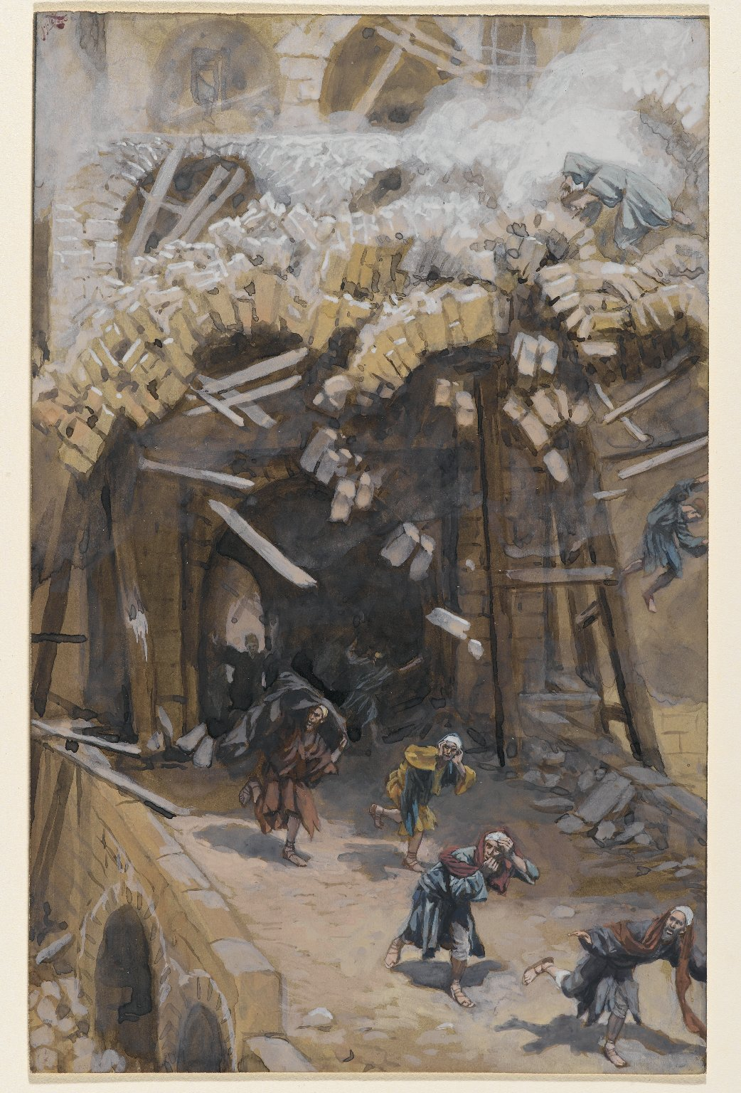 The Tower of Siloam by James Tissot