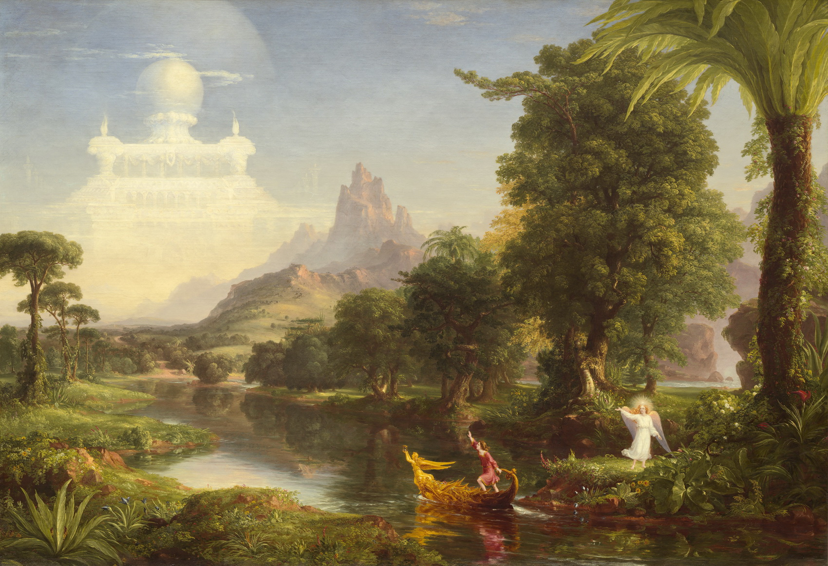 Thomas Cole - The Ages of Life - Youth - WGA05140-1700