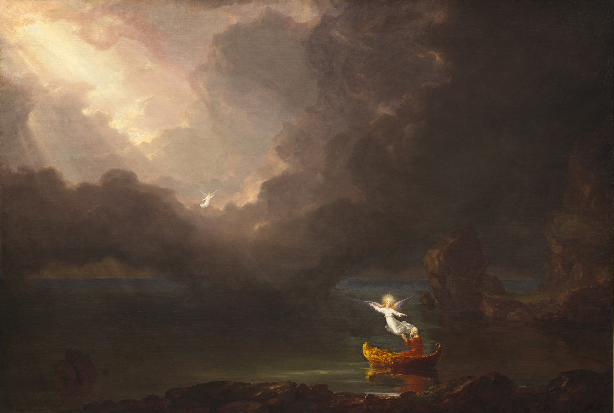 Thomas Cole - The Voyage of Life Old Age 1842-2000