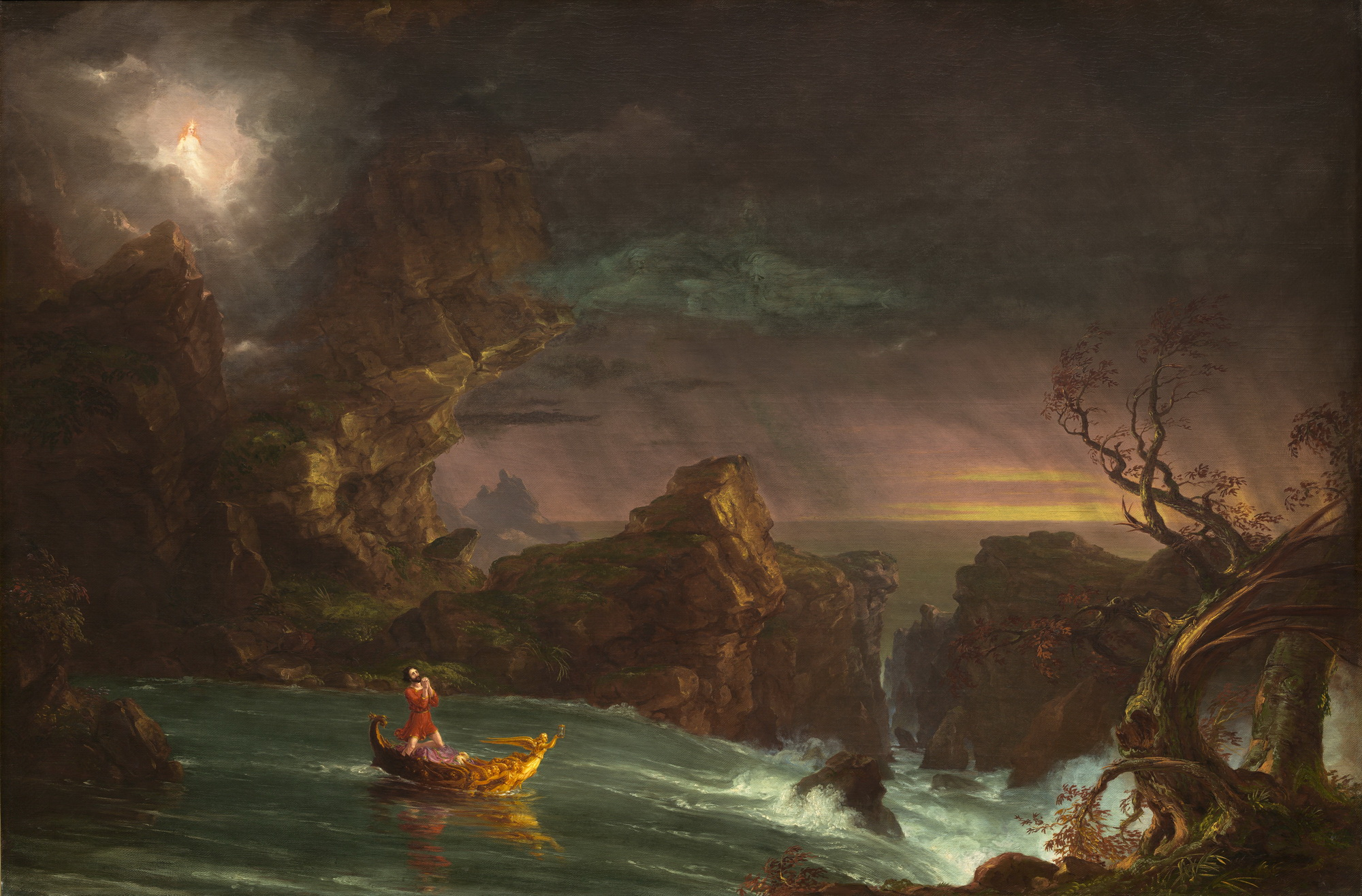 Thomas Cole The Voyage of Life 1842-2000
