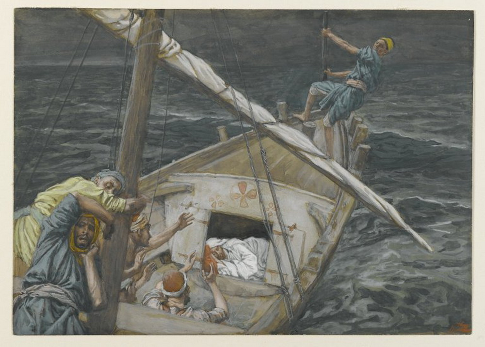 Tissot-Jesus Sleeping During the Tempest1000